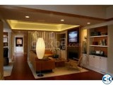 modern twist on traditional sitting room