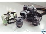 Nikon D7100 with full setup