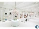 Exclusive Showroom interior Design & Decoration