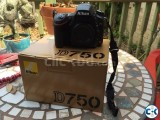 Nikon D D750 Digital SLR Camera.