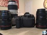 Complete Canon Eos Dslr Camera.