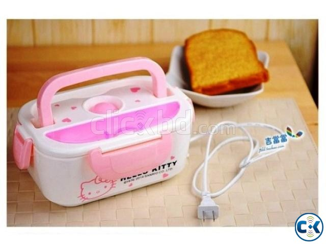 Multi-Function Electric heating Lunch Box with plug | ClickBD large image 3