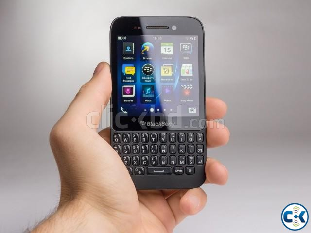 Brand New Blackberry Q5 With One Year Parts warranty | ClickBD large image 0