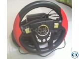 Used Racing Wheel - Genius Speed Wheel 6 MT