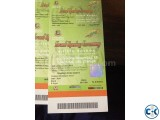 BPL-2015 Opening Ceremony 4 Tickets