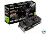 ASUS STRIX-GTX980-DC2 OC-4 GB DDR-5 Graphics Card