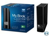 WD My Book 6TB External USB 3.0 Hard Drive BrandNew From USA
