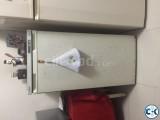 1 samsung freezer and 01 refrigarator