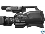 Sony HXR-MC2500 Shoulder Mount Professional Video Camera