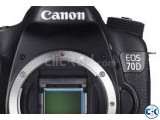 CANON EOS DSLR 70D 24.2MP ONLY BODY CAMERA