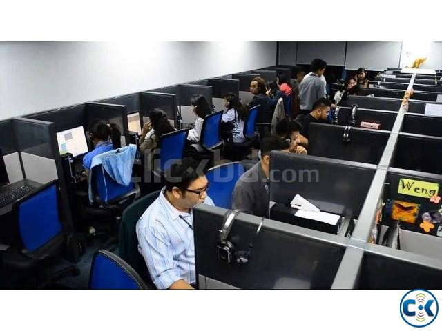Rent call center with running client | ClickBD large image 0