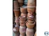POTTERY -  HAND MADE