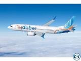Dhaka to Doha QATAR One Way Flights Ticket by Fly Dubai