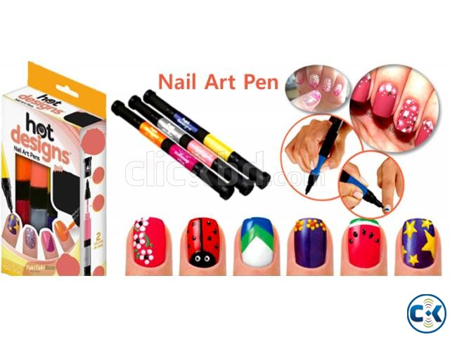 8 In One Hot Design Nail Art Pen Clickbd