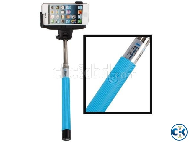 selfie stick with audio cable clickbd. Black Bedroom Furniture Sets. Home Design Ideas