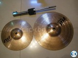 paiste pst 8 and pst 10 splash with clamp