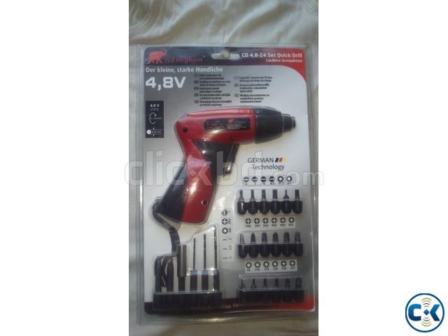 cordless screwdriver set red elephant clickbd. Black Bedroom Furniture Sets. Home Design Ideas