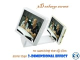 3D enlarg screen for mobile phone. 3D