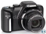 Canon PowerShot SX170 IS 16x Zoom 16MP Digital Camera