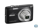 Coolpix S2800 Nikon Digital Camera