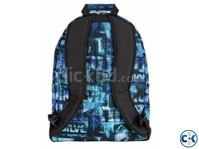 Quicksilver Backpack and Pencil Case Set - Blue | ClickBD large image 1