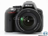 Nikon D5300 24.2 MP CMOS Stereo Mic SLR Camera
