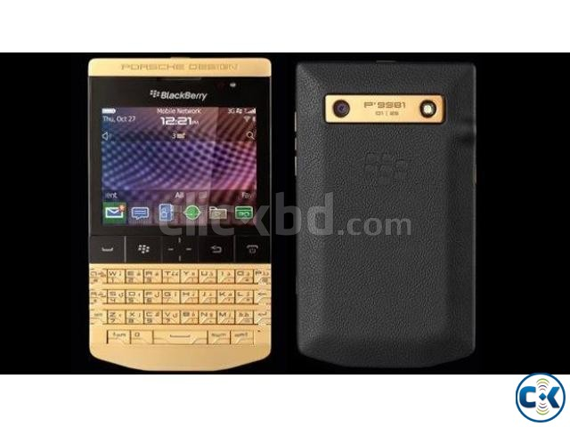 Brand New BlackBerry Porsche Design Sealed Pack With Warrnty | ClickBD large image 0