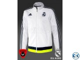 Real Madrid Authentic White Jacket 15 16