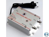Dish Line Cleaner TV Amplifier