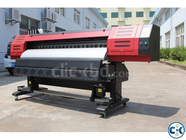ECO Solvent 1.8M Industrial Printer | ClickBD large image 0