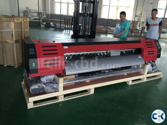ECO Solvent 1.8M Industrial Printer | ClickBD large image 1