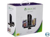 Xbox 360 e with kinect