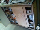 File cabinet as well as bookshelf