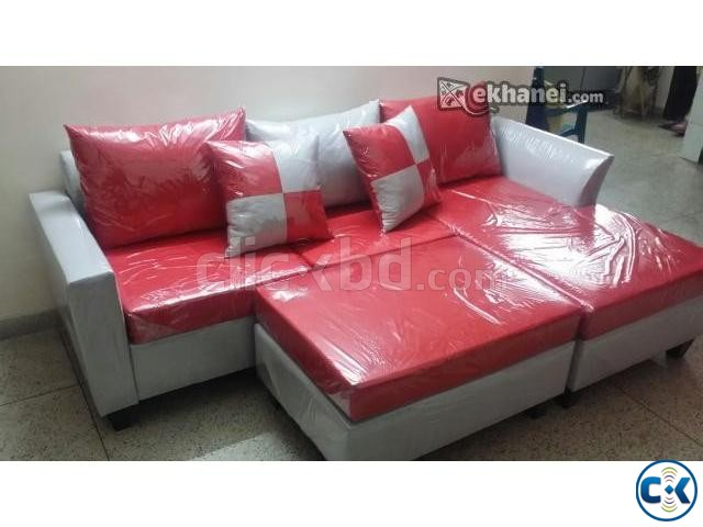 American Design Mini L Shape Sofa ClickBD