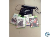 Xbox 360 with KInect Jtagged