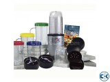 21 Piece Magic Bullet Food Processor.