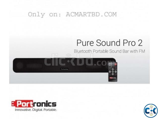 Portronics Sound Bar and Bluetooth Speaker | ClickBD large image 0