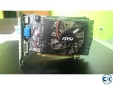 Nvidia gt 630 4gb graphics card MSI