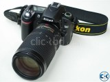 Nikon D80 DSLR Camera With 18-105mm Lens