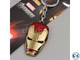 Iron Man Helmet Avengers Key Ring
