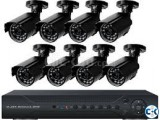 8Channel Full AHD DVR With 8 Unit AHD Night Vision Camera