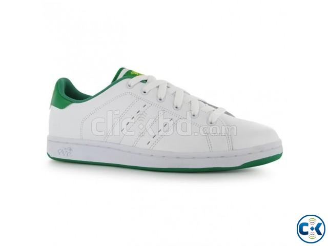 Lonsdale Leyton Leather Mens Trainers shoe | ClickBD large image 0