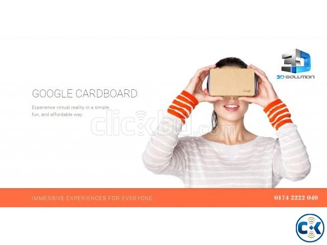 how to create the google cardboard click