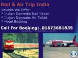 Indian Rail Air Hotel Booking