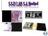 SSD SOLUTION FOR CLEANING BLACK MONEY Chemical