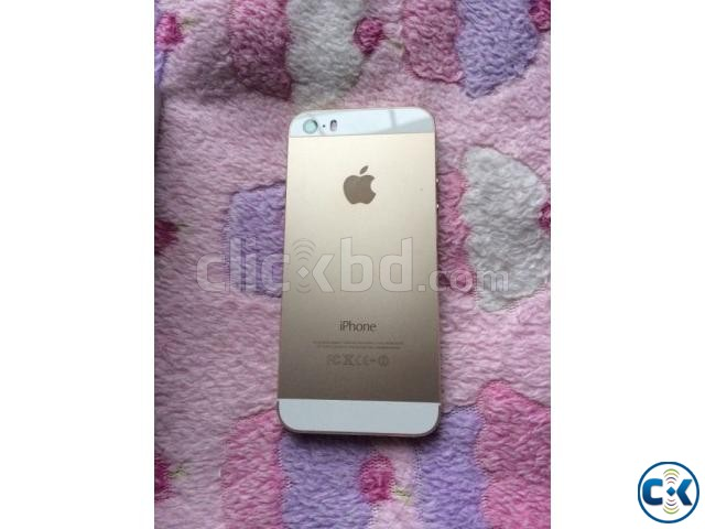 Apple iPhone 5S 16GB Gold | ClickBD large image 1