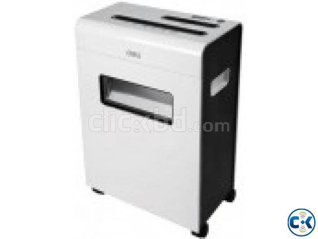 Deli 9915 10-Sheet Capacity Paper Shredder Machines | ClickBD large image 0