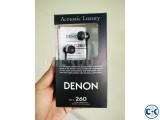 DENON AH-C260 ACOUSTIC LUXURY HEADPHONE