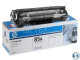 HP 85A Black LaserJet Toner