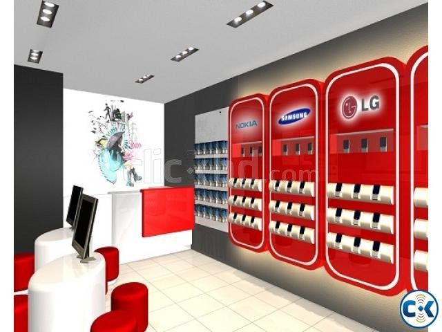 Mobile Shop Interior Decoration